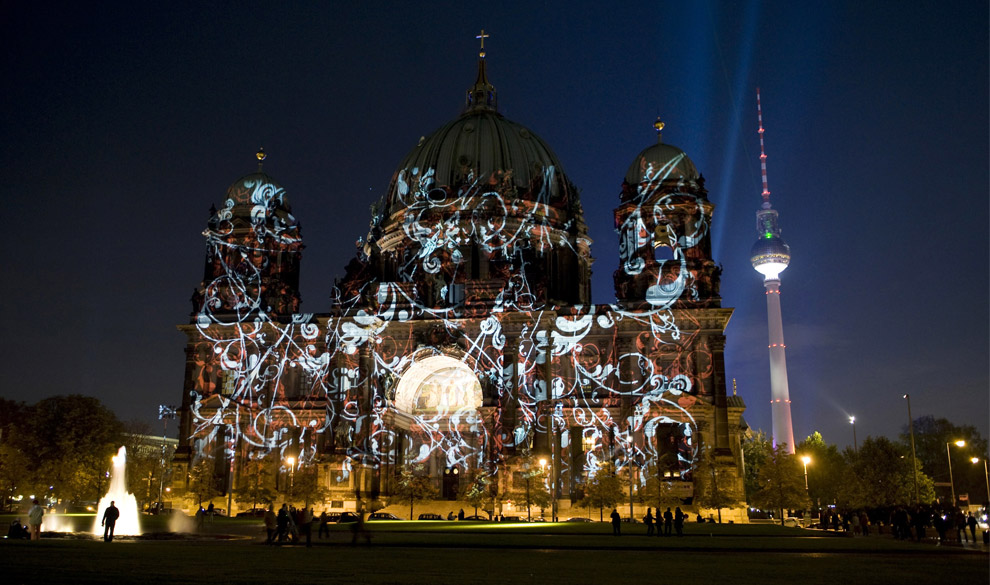 Berlin nocą