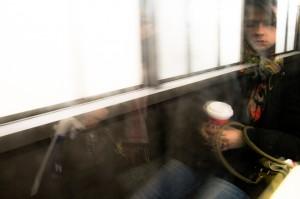 Metro-piękna nieznajoma