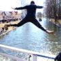 W mazurskich jeziorach woda jest już tak ciepła, że można się kąpać!!