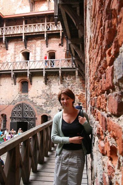 Zamek w Trokach-wycieczka na Litwę