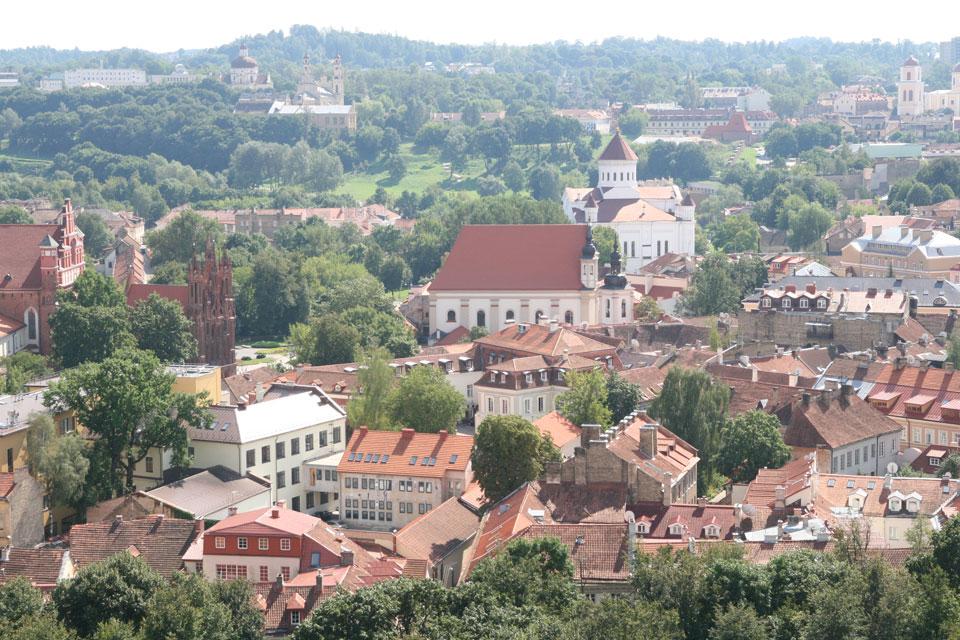 Wilno-z-wieży Giedymina _wycieczka na Litwę