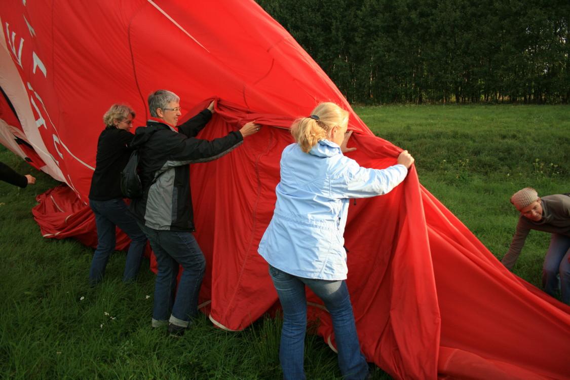 Pakujemy balon po locie