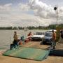 Prom w Wierzbie niedaleko Mikołajek- po linie przez jezioro Bełdany!
