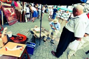 Jarmark w Węgorzewie- ludowy twórca ciekawe imprezy Mazury-1