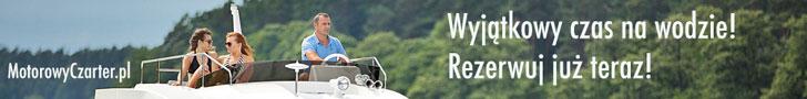 Czarter bez patentu jacht motorowy Mazury