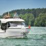 Nowe jachty motorowe na Mazurach